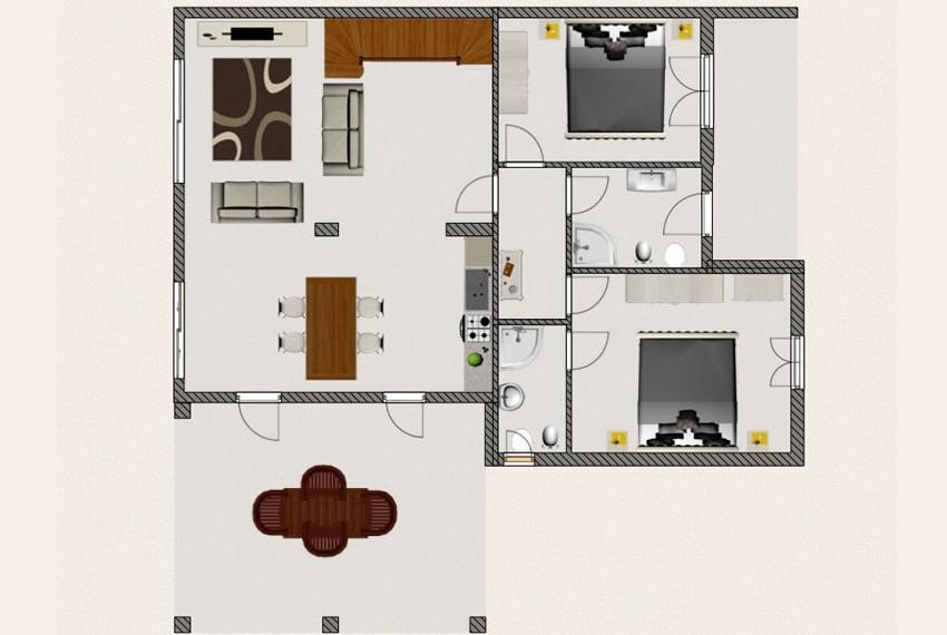 Villa Melissa, Project Design