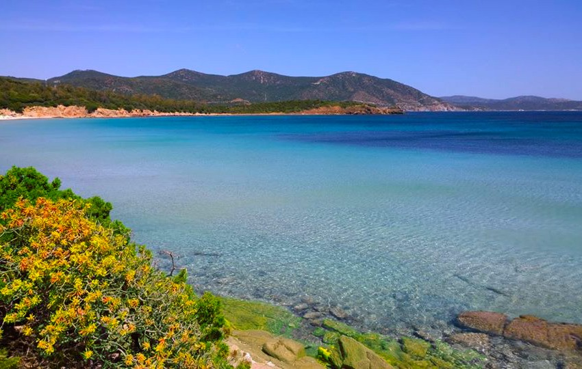 Vacanze in Sardegna, Spiagge Chia